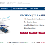 Patria Forex , kdysi brokerský top v ČR